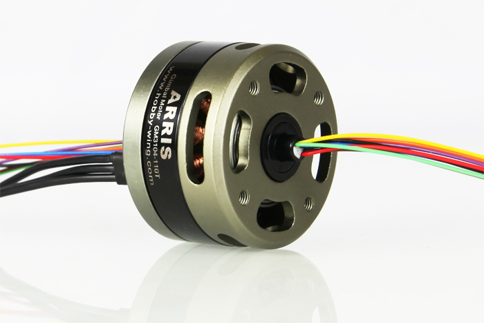Arris Gimbal Brushless Motor Gb3104 110t With Slip Ring