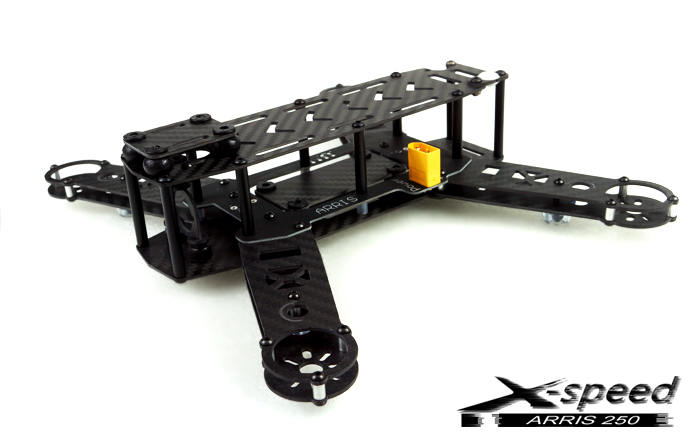 ARRIS X-Speed FPV250 Racing quadcopter Frame|MH-AR-XSP250-F-US|250 ...
